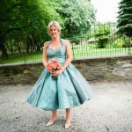 Spotlight on Colorful Wedding Gowns