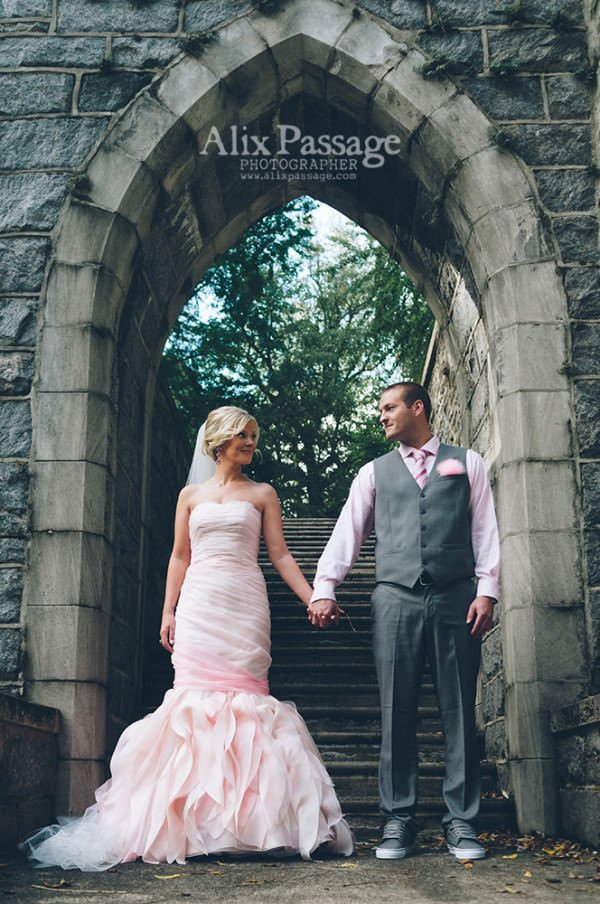 Katelyn and Steve were married in a historic cemetery in Philadelphia, Pennsylvania.