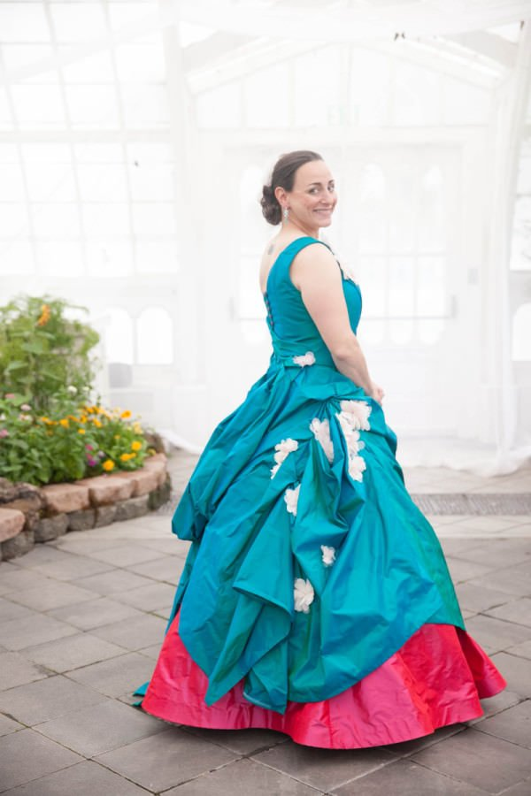 Couture gowns are one-of-a-kind looks and perfect for brides like Lavinia who know what they want.