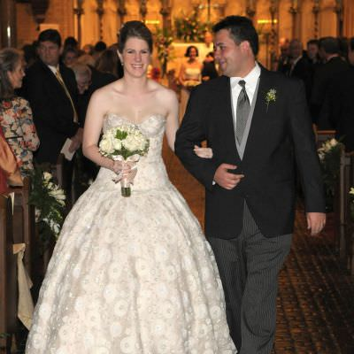 Bejeweled Wedding Ball Gown