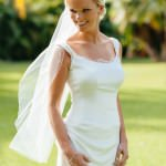 Sophisticated, One-of-a-Kind Beach Wedding Dress